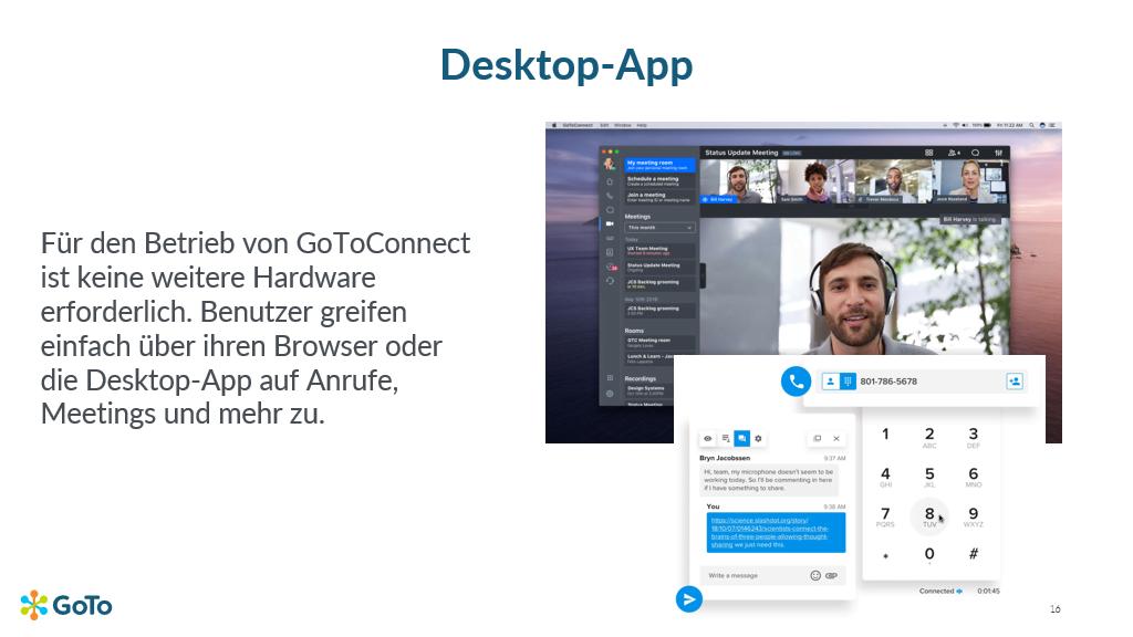 GTC Desktop App